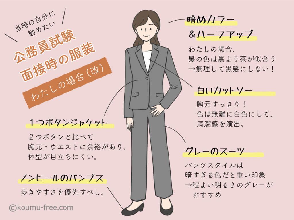 公務員試験面接での髪型・服装は?実例とおすすめを紹介